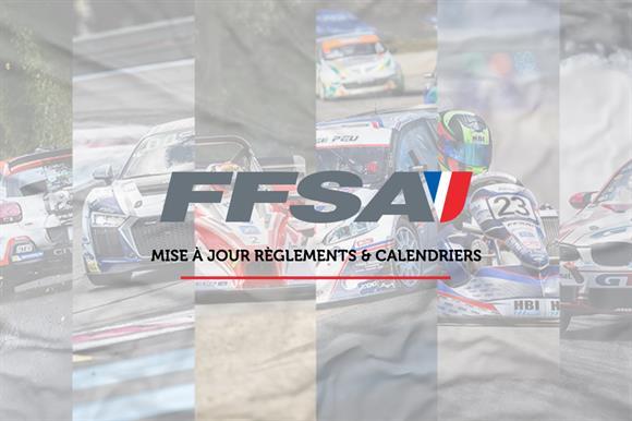 Calendriers & Règlements FFSA 2020