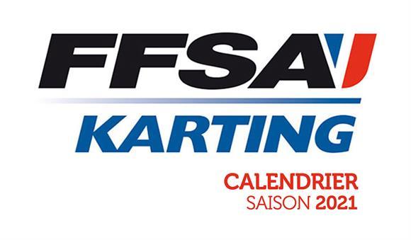 Calendrier FFSA Karting 2021